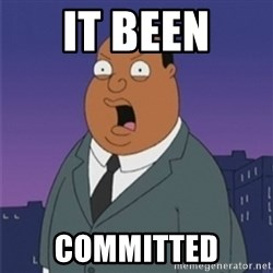 ollie williams - It Been Committed