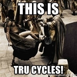 sparta kick - This Is Tru Cycles!