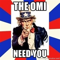 uncle sam i want you - The OMi need you