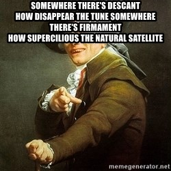 Ducreux - Somewhere there's descant  How disappear the tune