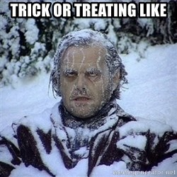 Frozen Jack - Trick or Treating like