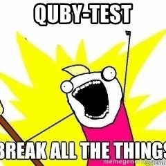 Break All The Things - quby-test