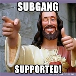buddy jesus - subgang supported!