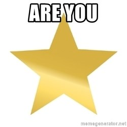 Gold Star Jimmy - are you