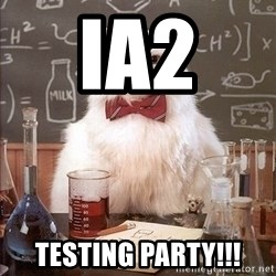 Chemistry Cat - IA2  Testing Party!!!