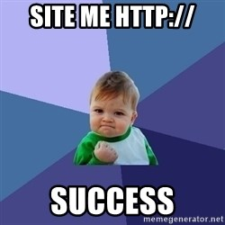 Success Kid - site me http:// success