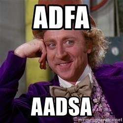 Willy Wonka - adfa aadsa