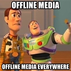 Consequences Toy Story - OFFLINE MEDIA OFFLINE MEDIA EVERYWHERE