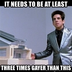 Zoolander for Ants - It needs to be at least three times gayer than this