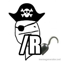 Poker face Pirate - /R