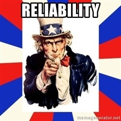 uncle sam i want you - Reliability