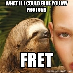 Whisper Sloth - What if I could give you my photons Fret