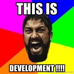 sparta - THIS IS  DEVELOPMENT !!!!