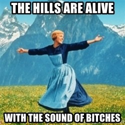 Sound Of Music Lady - the hills are alive with the sound of bitches