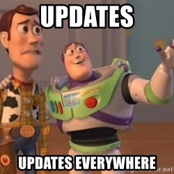 Buzz Lightyear meme - Updates updates everywhere
