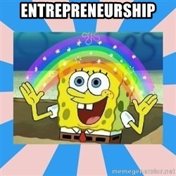 Spongebob Imagination - Entrepreneurship