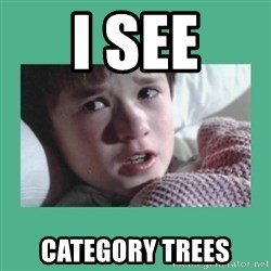 sixth sense - I SEE CATEGORY TREES