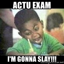 Black kid coloring - Actu exam I'm gonna slay!!!
