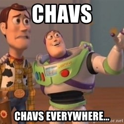 Buzz Lightyear meme - Chavs Chavs everyWhere…
