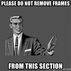 Grammar Guy - please do not remove frames from this section