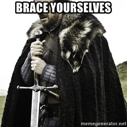 Sean Bean Game Of Thrones - BRace yourselves