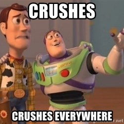 Buzz Lightyear meme - crushes crushes everywhere