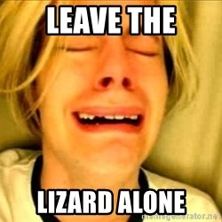 Leave Brittney Alone - Leave the Lizard alone