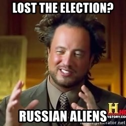 Ancient Aliens - LOST THE ELECTION? RUSSIAN ALIENS