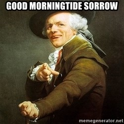 Ducreux - Good morningtide sorrow