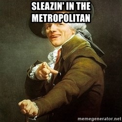 Ducreux - Sleazin' in the metropolitan