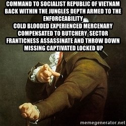 Ducreux - Command to Socialist Republic of Vietnam  Back within the jungles depth