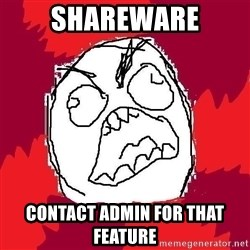 Rage FU - Shareware contact admin for that feature