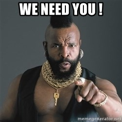 Mr T Fool - we need you !