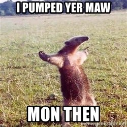 Anteater - I PUMPED YER MAW MON THEN