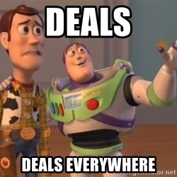 Buzz Lightyear meme - Deals Deals Everywhere