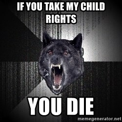 Insanity Wolf - IF YOU TAKE MY CHILD RIGHTS YOU DIE