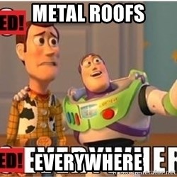 Toy Story Everywhere - Metal roofs Everywhere