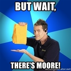 Shamwow Guy - But wait, There's moore!