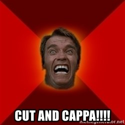 Angry Arnold - cut and cappa!!!!
