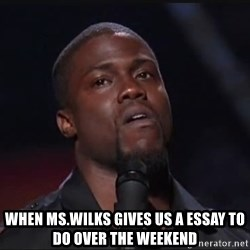 Kevin Hart Face - When ms.wilks Gives Us a essay to do over the weekend