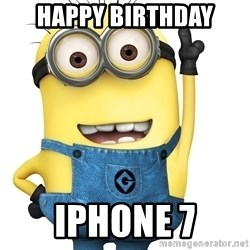 Despicable Me Minion - Happy birthday IPhone 7