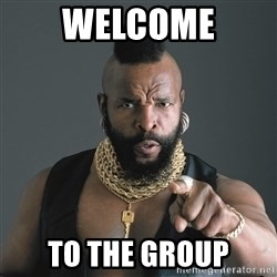 Mr T Fool - WELCOME TO THE GROUP