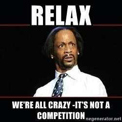 katt williams shocked - RElax We're All Crazy -It's not a competition