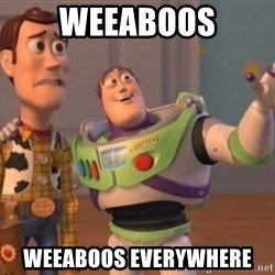 Buzz Lightyear meme - Weeaboos weeaboos everywhere