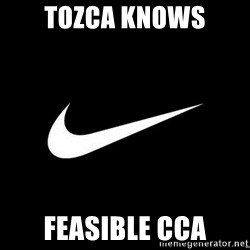 Nike swoosh - tozca knows feasible cca