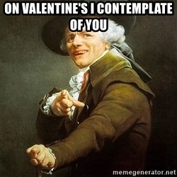 Ducreux - On Valentine's I contemplate of you