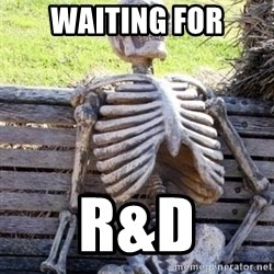 Waiting For Op - WAITING FOR R&D