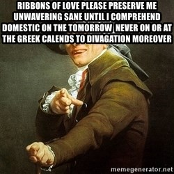 Ducreux - Ribbons of love