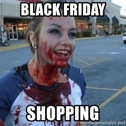 Scary Nympho - Black Friday  Shopping