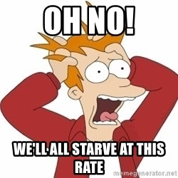 Fry Panic - Oh no! we'll all starve at this rate